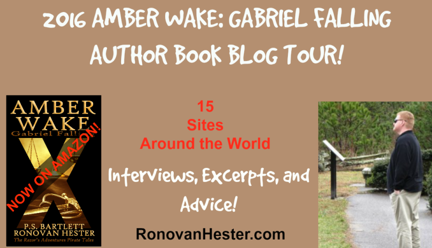 Amber Wake: Gabriel Falling Book Blog Tour