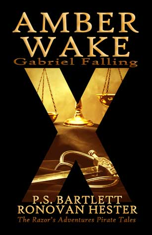 Amber Wake – Gabriel Falling by @PSBartlett and @RonovanWrites – a #book review