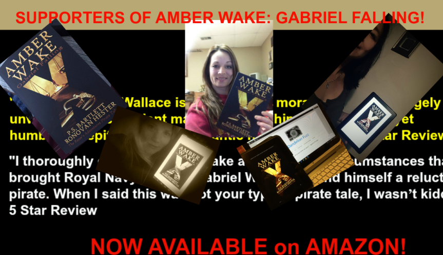 A Beta-Reader and Author Correspondence. Amber Wake: Gabriel Falling.
