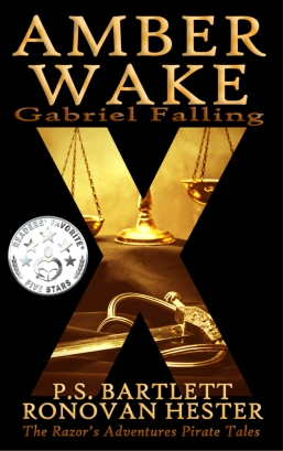 Amber Wake: Gabriel Falling Readers' Favorite cover.