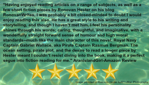 5 Star Review Quote from the Aran Artisan.